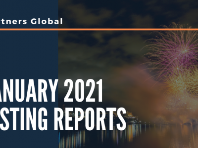 January 2021 Listing Report